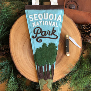 Sequoia National Park Felt Pennant