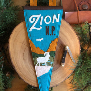 Zion National Park Pennant