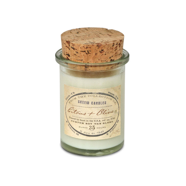 Citrus and Olive Jar Candle