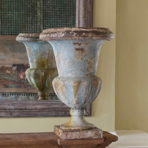 Turquoise French Mantle Urn