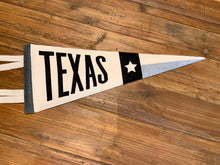 Load image into Gallery viewer, Texas Felt Pennant