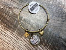 Load image into Gallery viewer, Charm Bracelet - Map of Georgetown TX