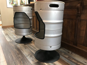 6Whiskey Keg Barstool