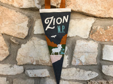 Load image into Gallery viewer, Zion National Park Pennant