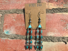 Load image into Gallery viewer, Peyote Bird Designs Nevada Turquoise Baby Marfa