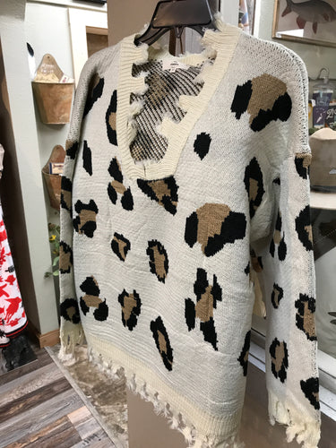 Lost Leopard Sweater