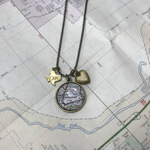 Load image into Gallery viewer, Charm Necklace - Map of Georgetown TX