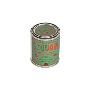Sequoia national park candle 6 whiskey good well supply all natural six whisky soy wood wick tin