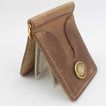 Load image into Gallery viewer, Over Under ~ Horween Front Pocket Wallet