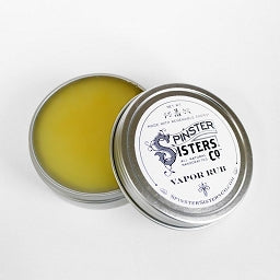 Spinster Sisters 6 whiskey vapor rub all natural eucalyptus six whisky