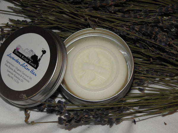 Lavender Lotion Bar 1.2 oz. in Tin