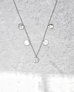 FIVE COIN NECKLACE