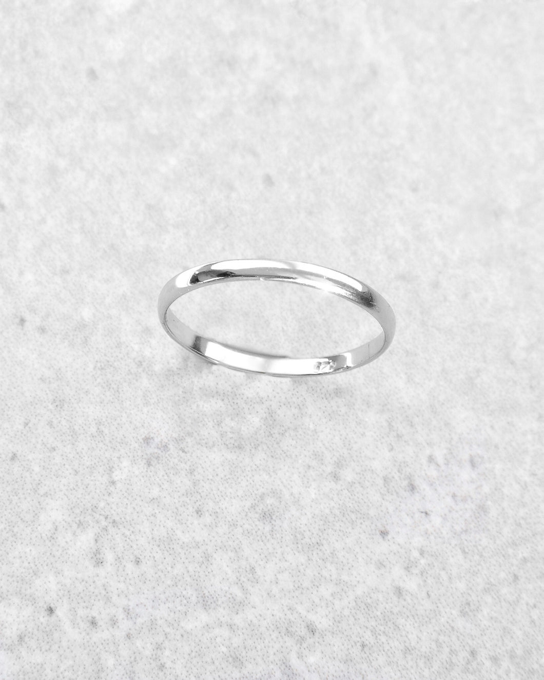 SIMPLE RING SILVER