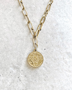 SWISS COIN CHAIN NECKLACE