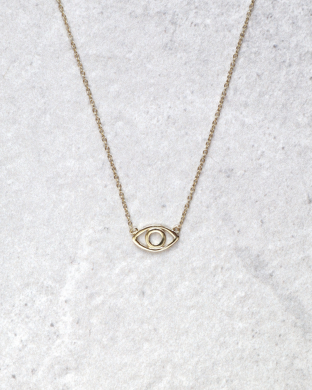 SIMPLE EYE NECKLACE
