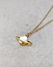 Load image into Gallery viewer, SATURN NECKLACE
