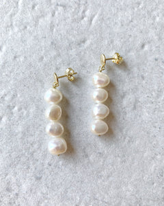 GINEVRA PEARLS EARRINGS