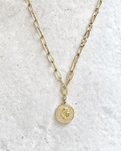 Load image into Gallery viewer, SWISS COIN CHAIN NECKLACE
