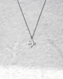 FLY NECKLACE SILVER