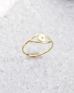 SIMPLE EYE RING