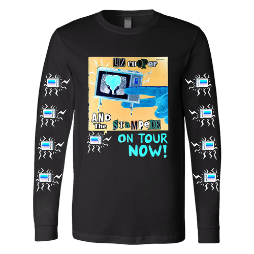 Black Long Sleeve Tour Tee