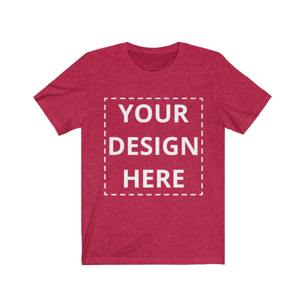 Custom T-Shirt Unisex - Personalized T-Shirt with Text or Image or Logo Design Shirt - CustomTeesGifts