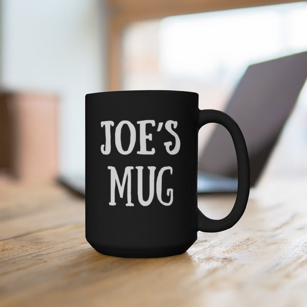 Black Mug 15oz - Custom Mug for Ashley Cisneros - Mug 4