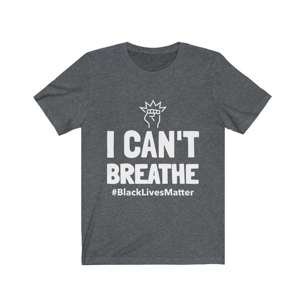 I Can't Breathe Shirt, Black Lives Matter Shirt, I Can't Breathe - BLM Unisex Shirt - CustomTeesGifts