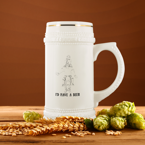 Custom Beer Stein for Joshua Donnelly - CustomTeesGifts