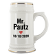 Personalized Beer Stein - Custom Mug Order for Holly Smits - 1