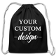 Personalized Cotton Drawstring Bag | Create your Own Custom Drawstring Bag