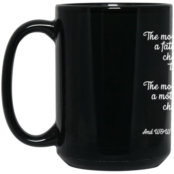 The Most Important Thing - BM15OZ 15 oz. Black  Custom Mug Order - CustomTeesGifts