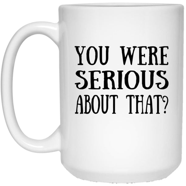 21504 15 oz. White Mug - Custom Mug for Sarah Richardson - CustomTeesGifts