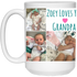 Custom Mug for Davit Minches - 21504 15 oz. White Mug Collage - CustomTeesGifts