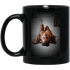 BM11OZ 11 oz. Black Mug - Custom Mug for Ana Cabrera - CustomTeesGifts