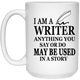 I Am A Writer Mug  - 21504 15 oz. White Mug