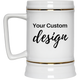 Personalized Beer Stein 22oz. | Design Your Own Custom Beer Stein