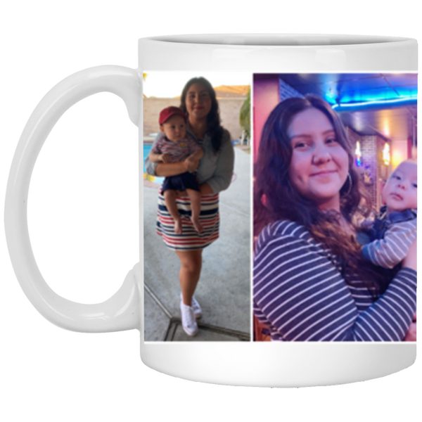 XP8434 11 oz. White Mug  - Custom Mug Order for Tania Gomez - CustomTeesGifts