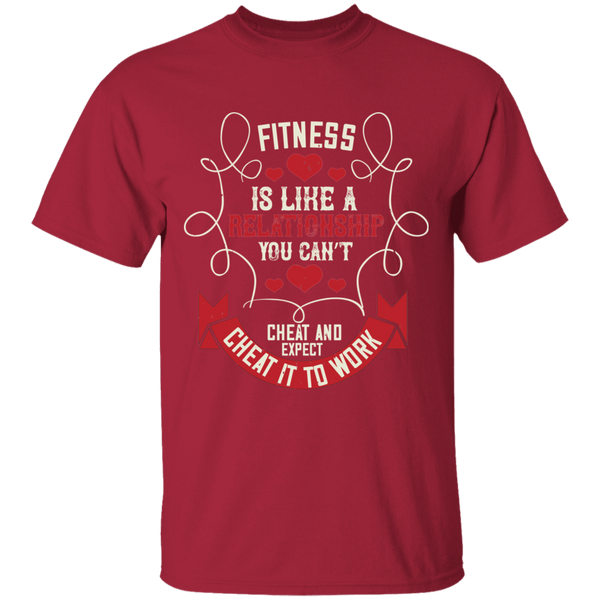 G500 5.3 oz. T-Shirt Gym Collection - CustomTeesGifts