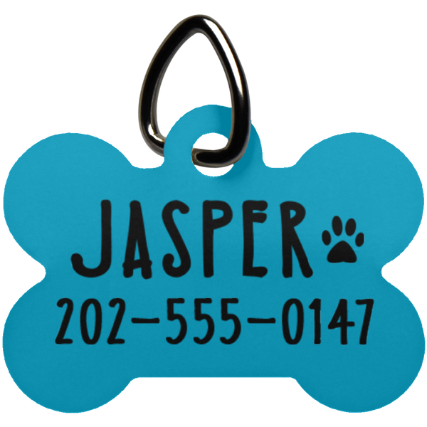 Custom Dog Tag - Personalized Dog Bone Tag - Pet Tag - Pet ID Tags for Dogs - CustomTeesGifts