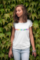 God is Love Tee - 3001C Unisex Jersey Short-Sleeve Christian T-Shirt