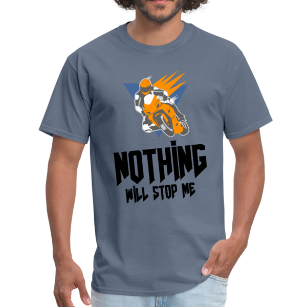 Nothing Will Stop Me - Men's T-Shirt Sports T-Shirt - CustomTeesGifts