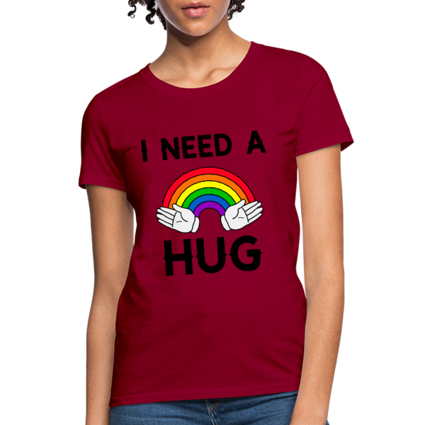 I Need A Hug Women t-shirts Women's T-Shirt Women's T-Shirt - CustomTeesGifts