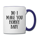 Contrast Coffee Mug - Custom Mug Order for The Happy Couple - Mug 1