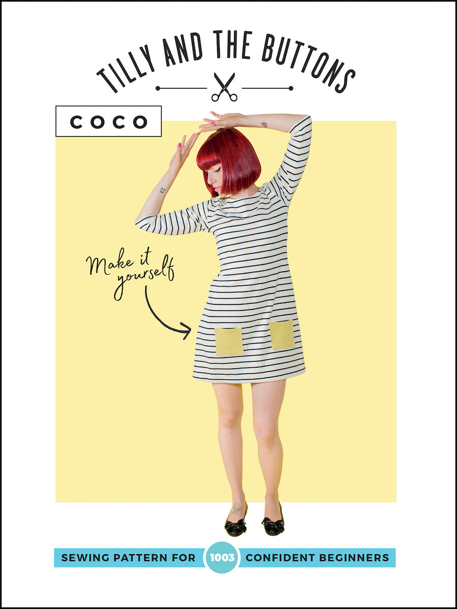 Coco Dress & Top Sewing Pattern by Tilly and the Buttons