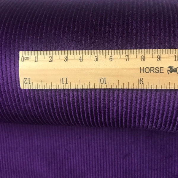 8 Wale Cotton Corduroy - Purple
