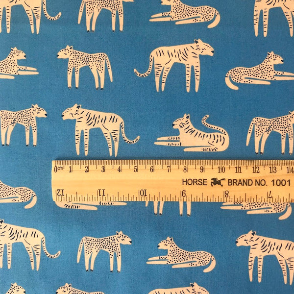 Fierce Felines Fresh - Selva - Art Gallery Fabrics Cotton