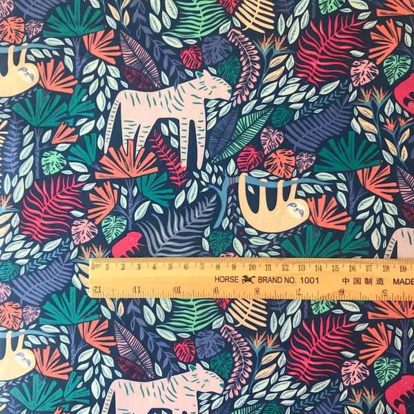 Junglen Jolly - Selva - Art Gallery Fabrics Cotton