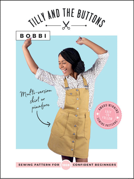 Bobbi Pinafore and Skirt Sewing Pattern by Tilly and the Buttons