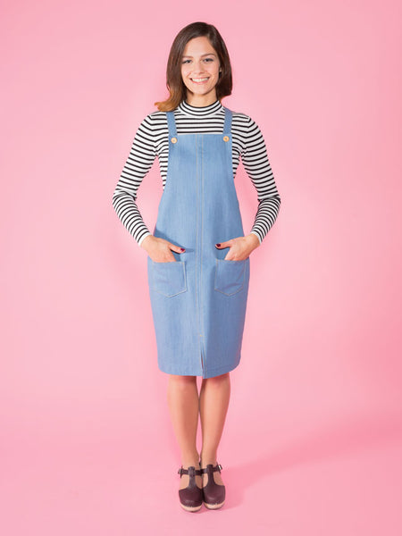 Cleo Pinafore Dress Sewing Pattern by Tilly And The Buttons